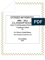 Vectors n Matrices Classifieds