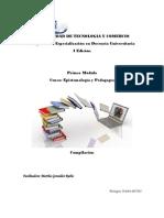 Dosier Epistemolog a y Pedagog A