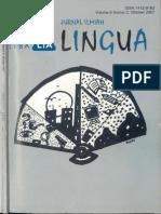 Lingua Stba Lia Vol 6 No 2 Okt 2007