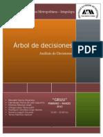 ARBOL DE DESICIONES
