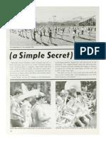 1971-72 University of Kentucky Wildcat Marching Band