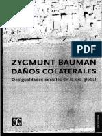 Zygmunt Bauman. Daños Colaterales