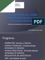 Introducción Del Curso Clínicas Integradas2015