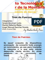 Tren de Fuerzas Maquinaria Pesada y Equipo Ligero