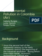Environmental Pollution in Colombia (Air)
