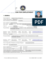 PSU EmploymentApplicationForm