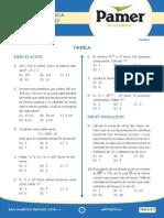 Aritmética temas de examen de admisión