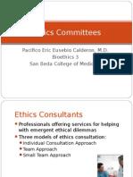 CALDERON Ethics Committees