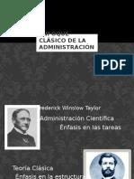 Enfoque Clásico de La Administración