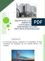 Equipos de Control de Emisiones