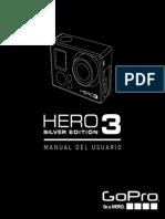 Manual Hero3 Silver