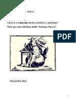 Vico e l'Errore di Platone e Cartesio