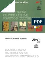 Manual Para El Cuidado de Objetos Culturales-Cons