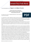 Globalisation & Impact on Indian Society _ Communist Party of India (Marxist)