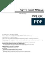 Ineo 360 Parts