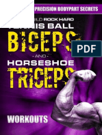 Done for You Workouts for Tennis Ball Biceps and Horseshoe Tricepswork