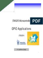 STM Logic 1.8 GPIO Applications