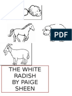 Worksheet Year 2 the White Radish