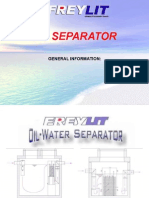 General Information Oilseparator