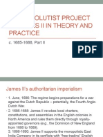 The absolutist project of James II in theory and practice, Part II.pptx