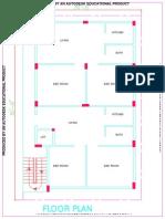 30x50 Plan Floor Plan