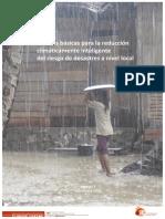 Normas básicas para la reducción climáticamente inteligente del riesgo de desastres a nivel local