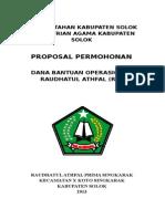 Proposal Ra Prima Ska