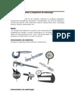 Investigacion de Instrumentos de metrologia