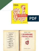 Grammont, Hamon Grammaire Française 1e Livre 1956 Grand Format