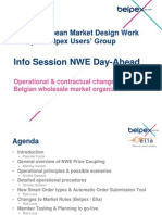 Info Session NWE Day-Ahead