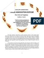 TRADE ASSOCIATION EXPOSÉ - The Circle of Conspiracy by Barry J. Lipson