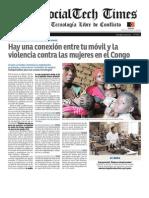 The Social Tech Times - Mujeres en Congo y una Tecnología Libre de Conflicto.