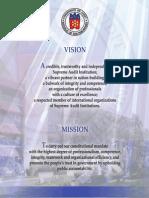 COA Vision Mission