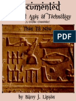 THE DOCUMENTED WONDERFUL AGES OF TECHNOLOGY - Then To Now by Barry J. Lipson