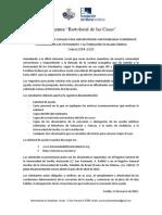 Convocatoria Programa Bartolomé de Las Casas