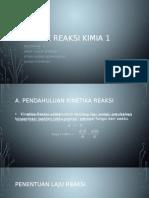 Teknik Reaksi Kimia 1