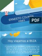 Ernesto Colman viajes:Ibiza