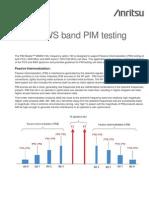 PCS & AWS Band Testing