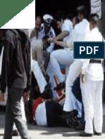 سجل انتهاكات حقوق الانسان لشهر فبراير