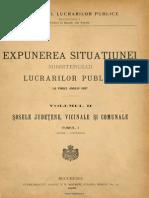Sosele judetene, vicinale si comunale, expunerea situatiei lucrarilor publice la finele anului 1897, Vol I.pdf