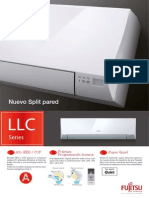 SERIES SPLIT PARED LLC FUJITSU - ASY 25Ui LLC / ASY 35Ui LLC