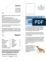 Caring for Your Leopard Gecko