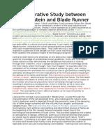 Frankenstein and Blade Runner