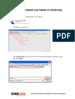 Manual Upgrade Software a5 Evercoss