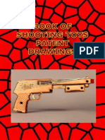 Book of  shooting toys patent drawings