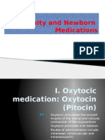8. Maternity and Newborn medication.pptx