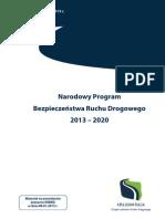 Program Ministra Sławomira Nowaka Na Lata 2013-2020