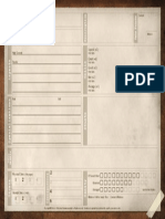 Achtung Cthulhu - Fate Character Sheet
