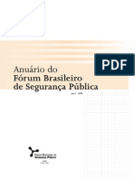 Anuário Segurança Pública 2008