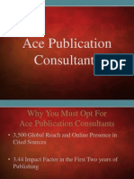 Why You Must Opt For Ace Publication Consultants